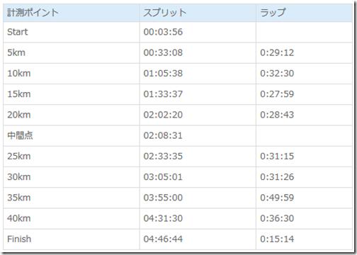 【レースレポート】京都マラソン2014 またもサブ4ならず