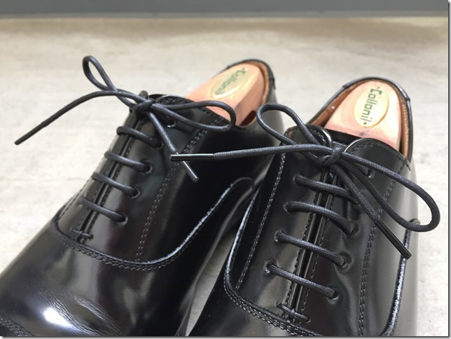 サラリーマン必見!革靴のシューレース交換は効果絶大です