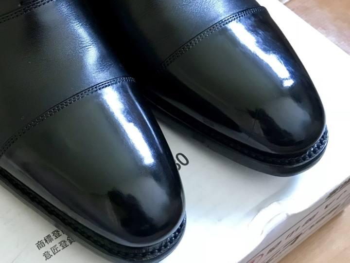 【ザ・靴】ダイソー108円ワックスで革靴の鏡面磨きをしてみた結果