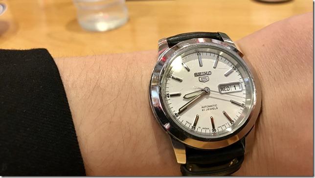 機械式の腕時計を1ヶ月試してみた結果、、、