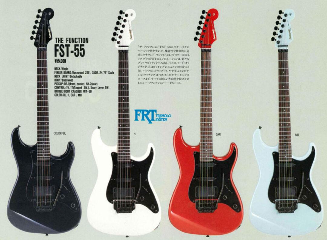 Fernandes FST-55 Catalog